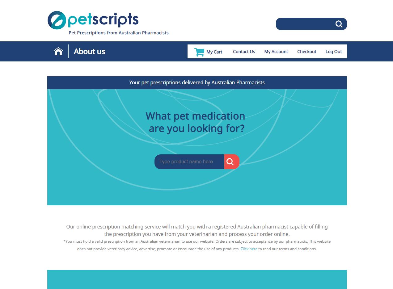 PetScripts Homepage